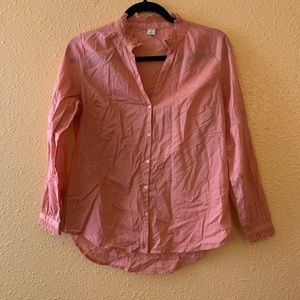 Old Navy Dusty Rose Blouse